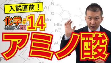 医学部受験化学 テーマ14 アミノ酸の等電点の画像